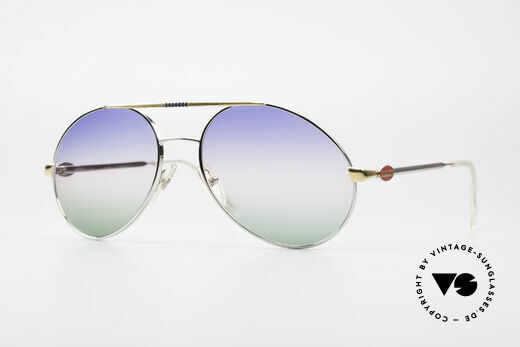 Bugatti 65982 Rare Vintage 80's Sunglasses Details