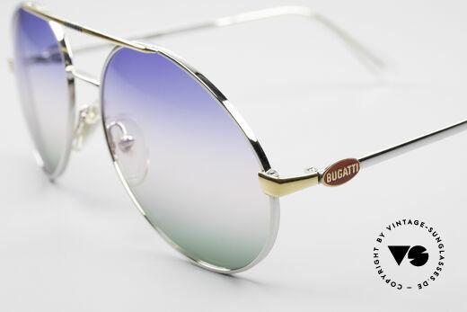 Bugatti 65982 Rare Vintage 80's Sunglasses