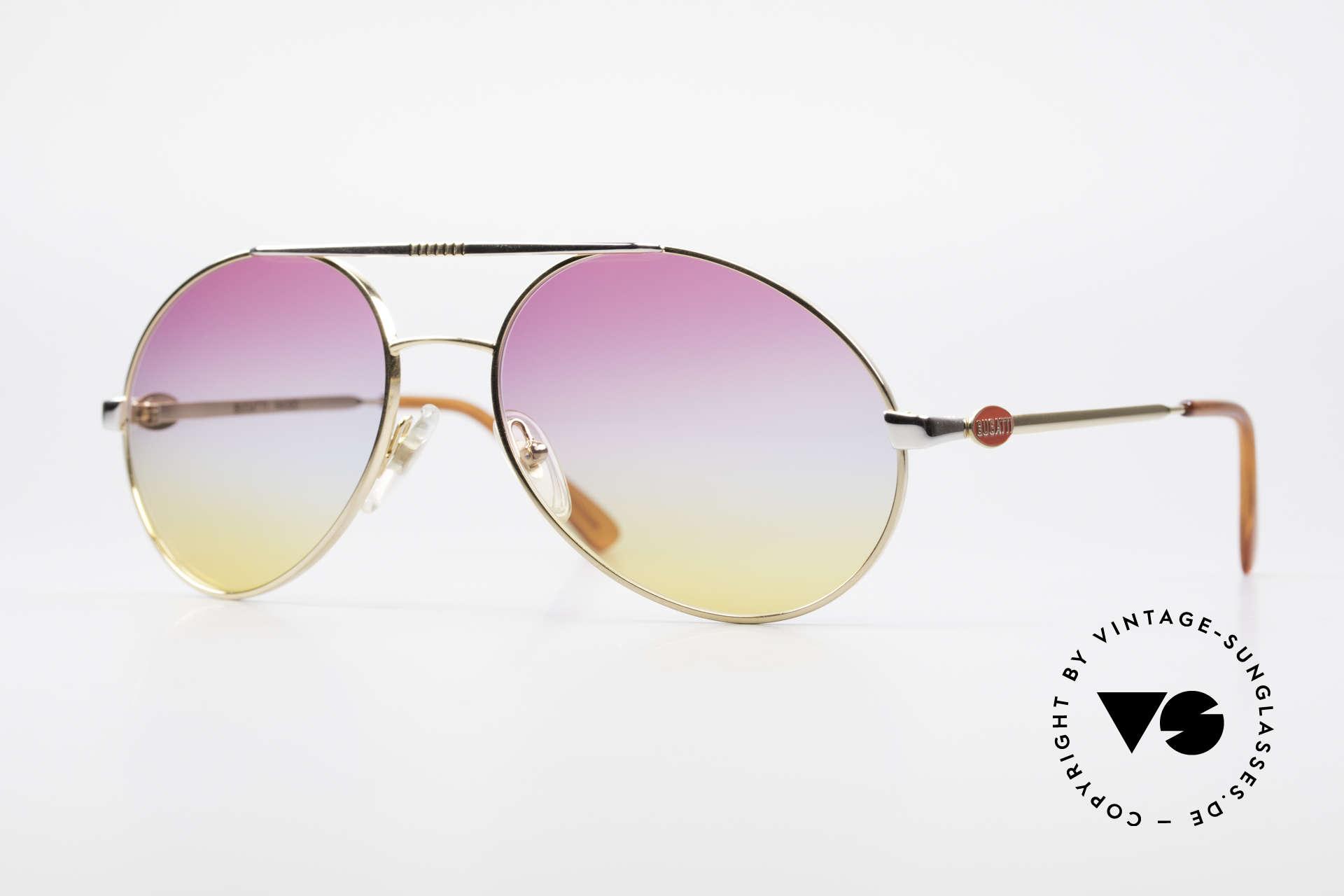 Bugatti 64320 Rare 80's Sunglasses Vintage, vintage 80's designer sunglasses by Bugatti, Made for Men