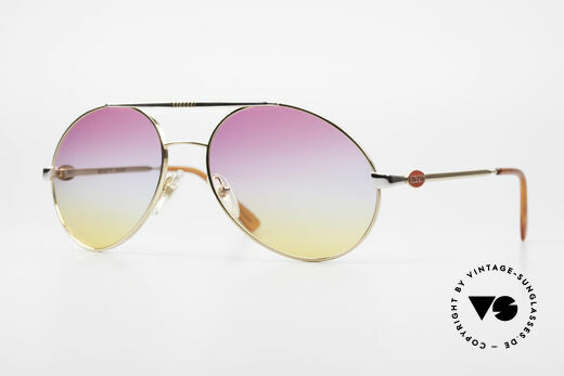 Bugatti 64320 Rare 80's Sunglasses Vintage Details