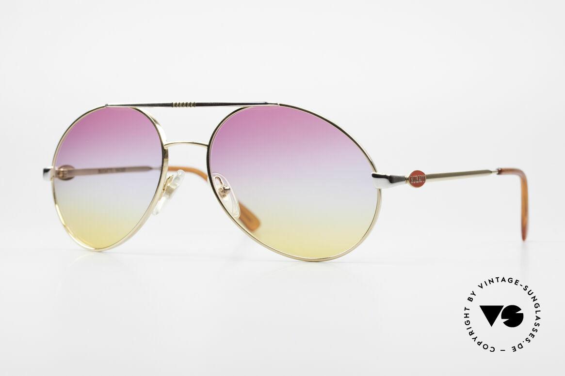 Bugatti 64320 Rare 80's Sunglasses Vintage