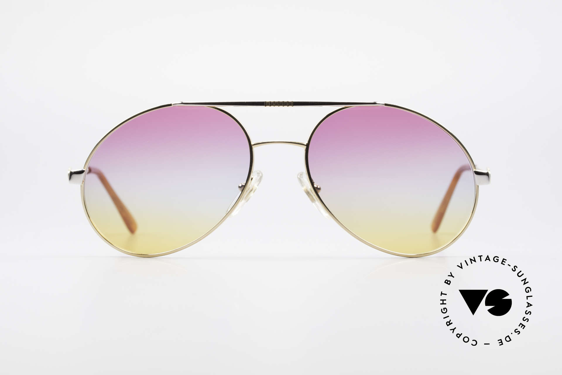 Bugatti 64320 Rare 80's Sunglasses Vintage, legendary Bugatti shape in high-end quality, Made for Men