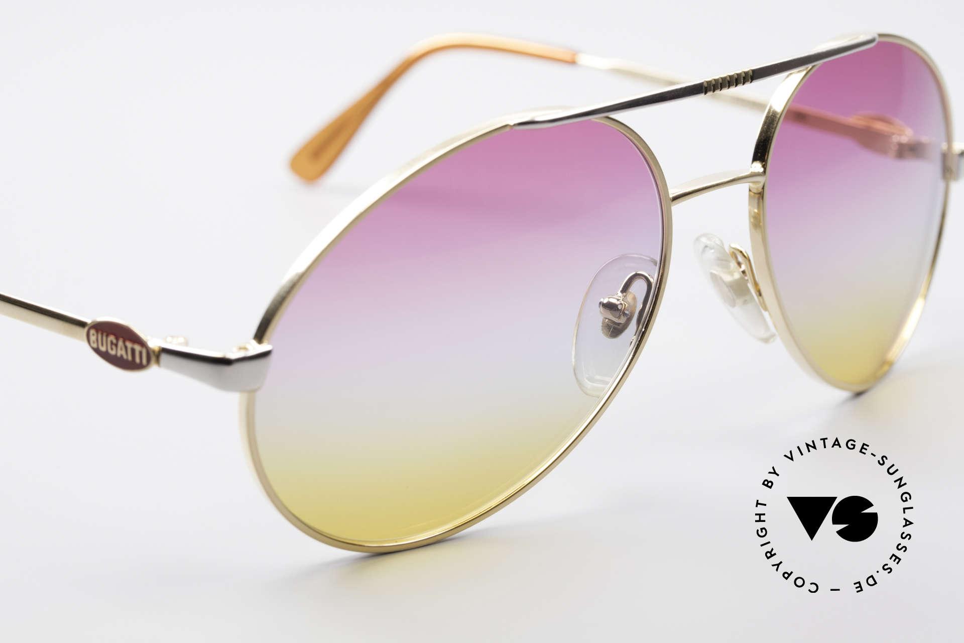 Bugatti 64320 Rare 80's Sunglasses Vintage, NO RETRO shades, but an old original frame!, Made for Men