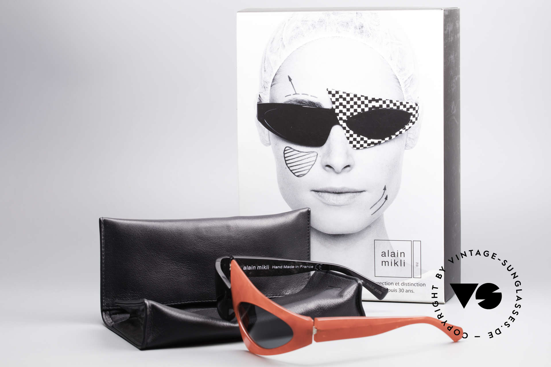 Alain Mikli 0005 Limited Special Edition 30 Years, Size: large, Made for Women