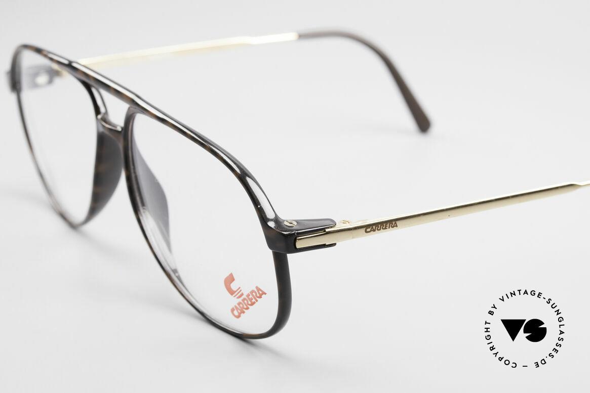 Carrera 5355 Carbon Fibre Vintage Frame, classic aviator eyeglass-design with double bridge, Made for Men