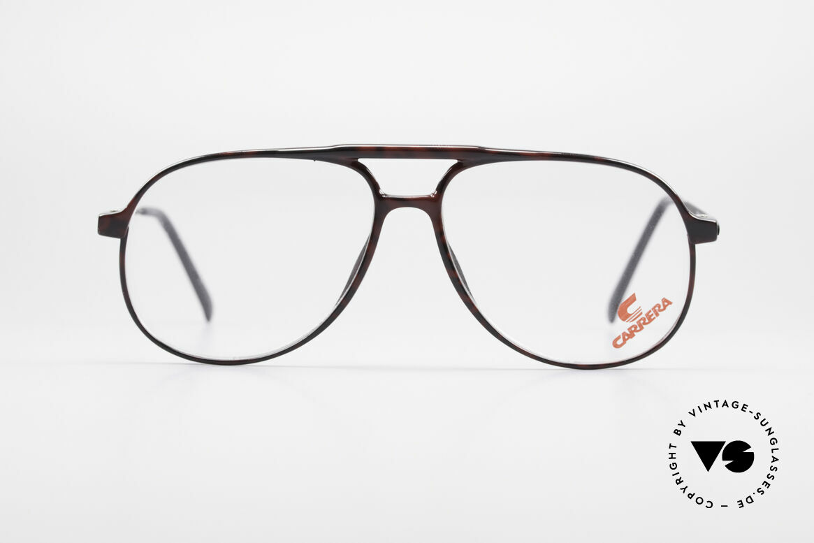 Carrera 5355 Carbon Fibre Aviator Frame, frame front is made of Carbon Fibre (lightweight), Made for Men