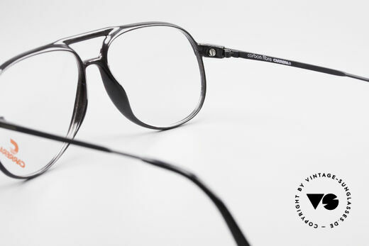 Carrera 5355 Carbon Fibre Aviator Frame, never worn; comes with a vintage pouch by Movado, Made for Men