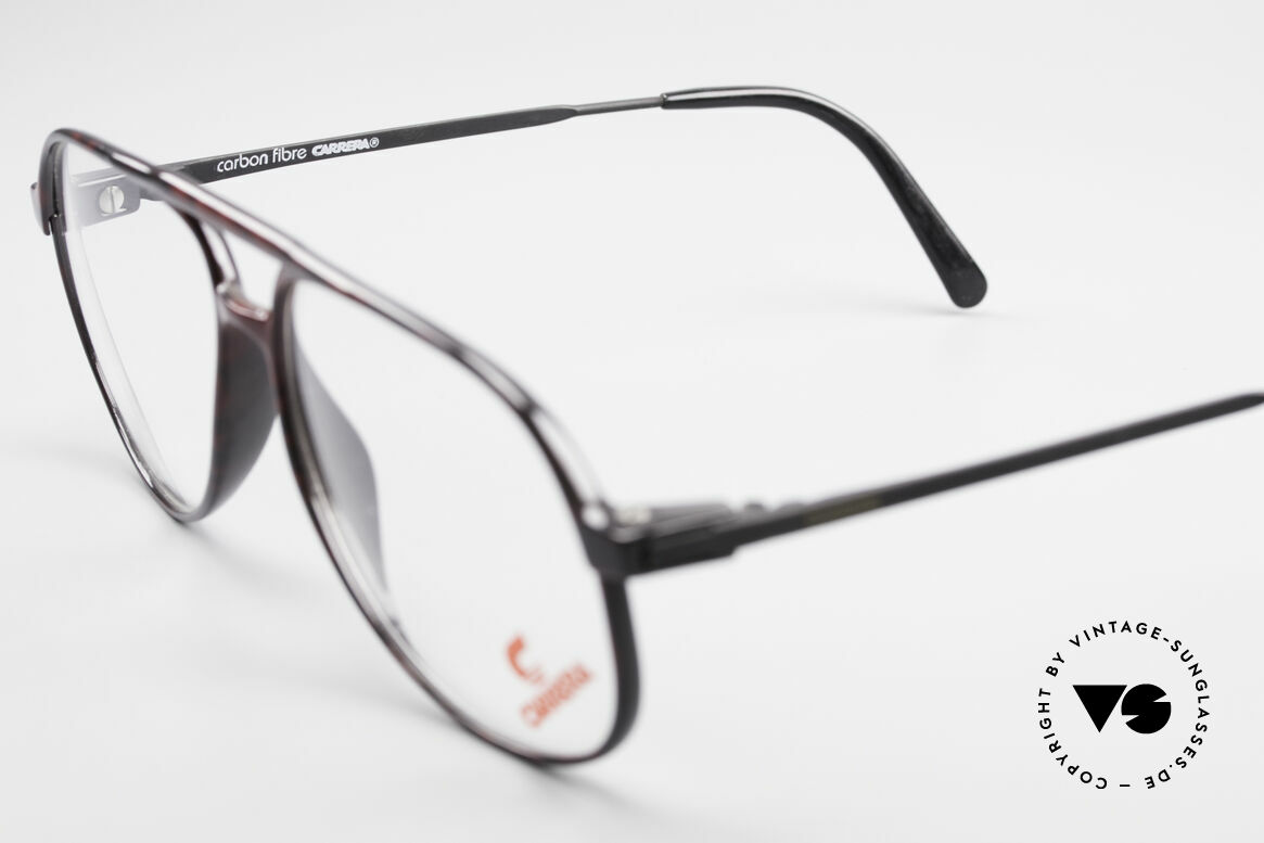 Carrera 5355 Carbon Fibre Aviator Frame, No RETRO, but a rare ORIGINAL from the early 90s, Made for Men