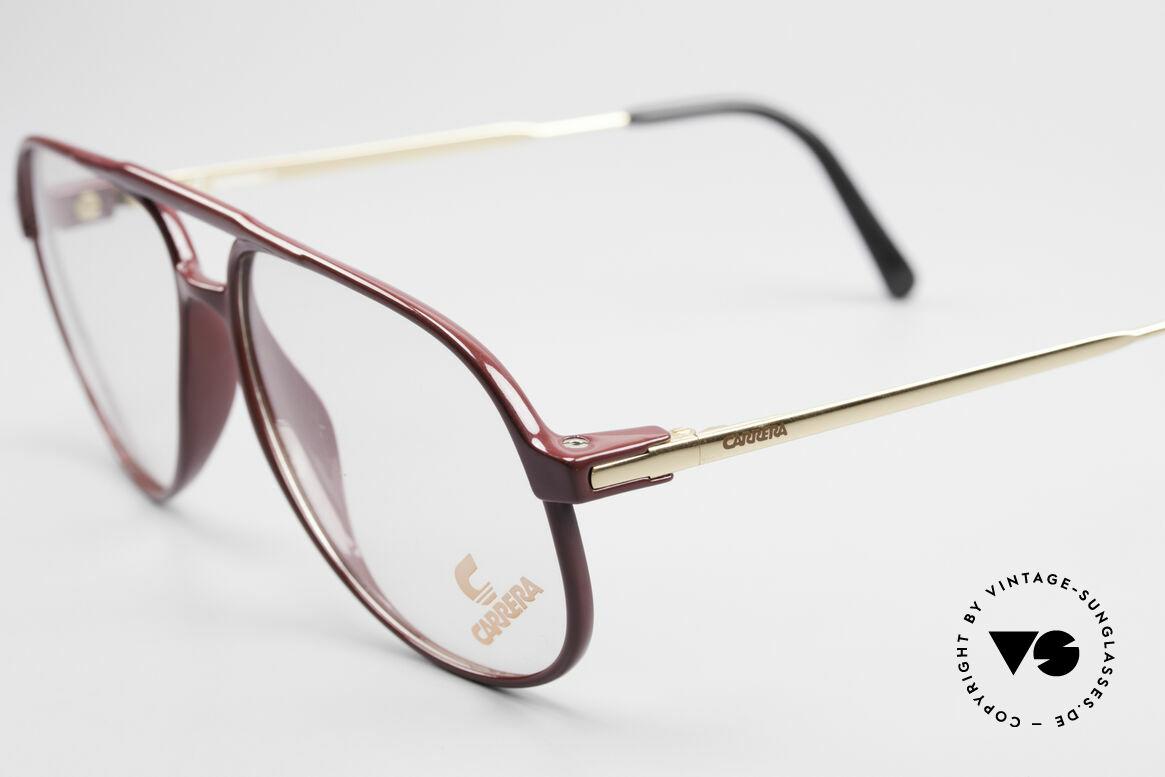 Carrera 5355 Carbon Fibre Aviator Glasses, classic aviator eyeglass-design with double bridge, Made for Men