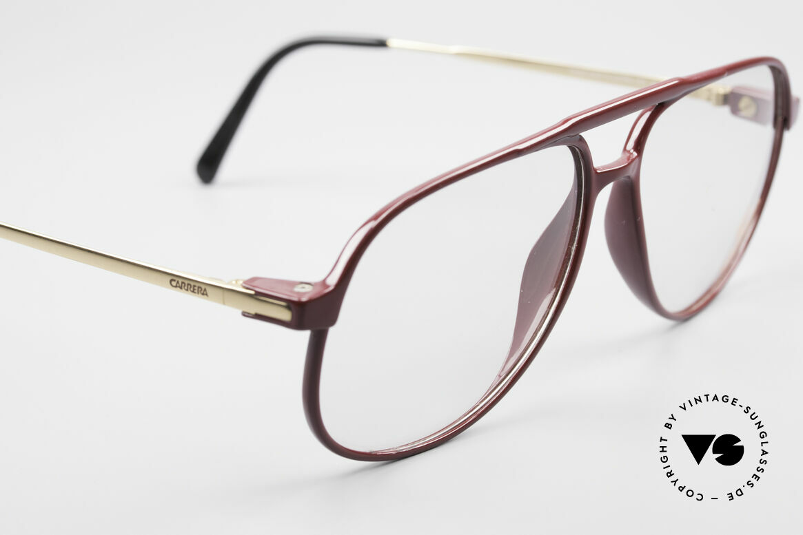 Carrera 5355 Carbon Fibre Aviator Glasses, noble coloring in a kind of 'ruby-colored / auburn', Made for Men