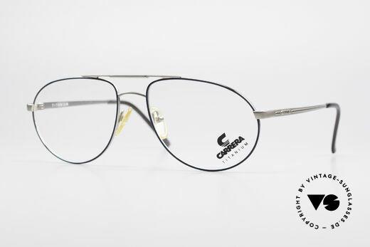 Carrera 5798 Titanium Vintage Eyeglasses Details
