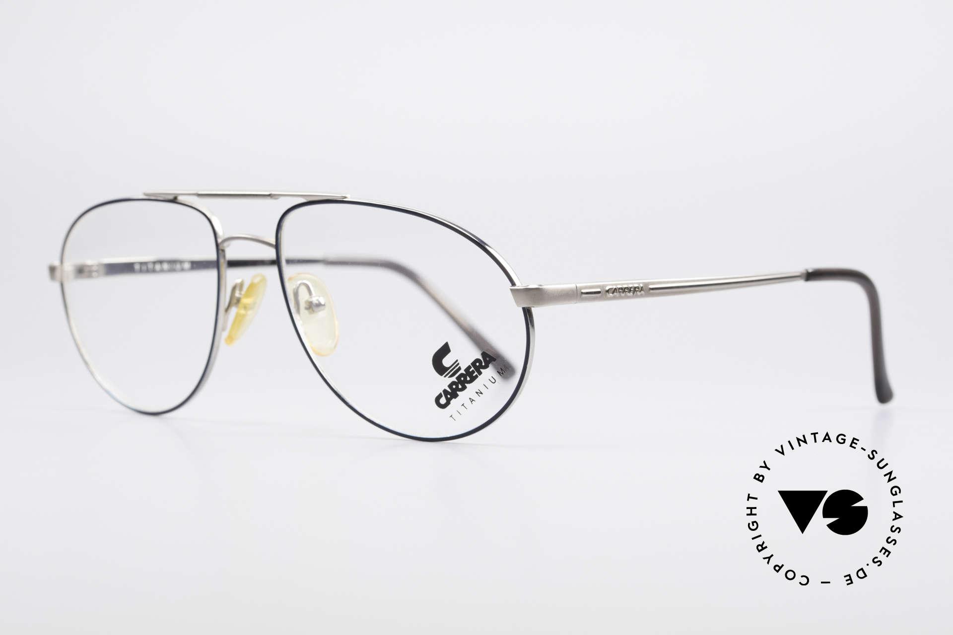 Carrera 5798 Titanium Vintage Eyeglasses, premium craftsmanship and very pleasantly to wear, Made for Men