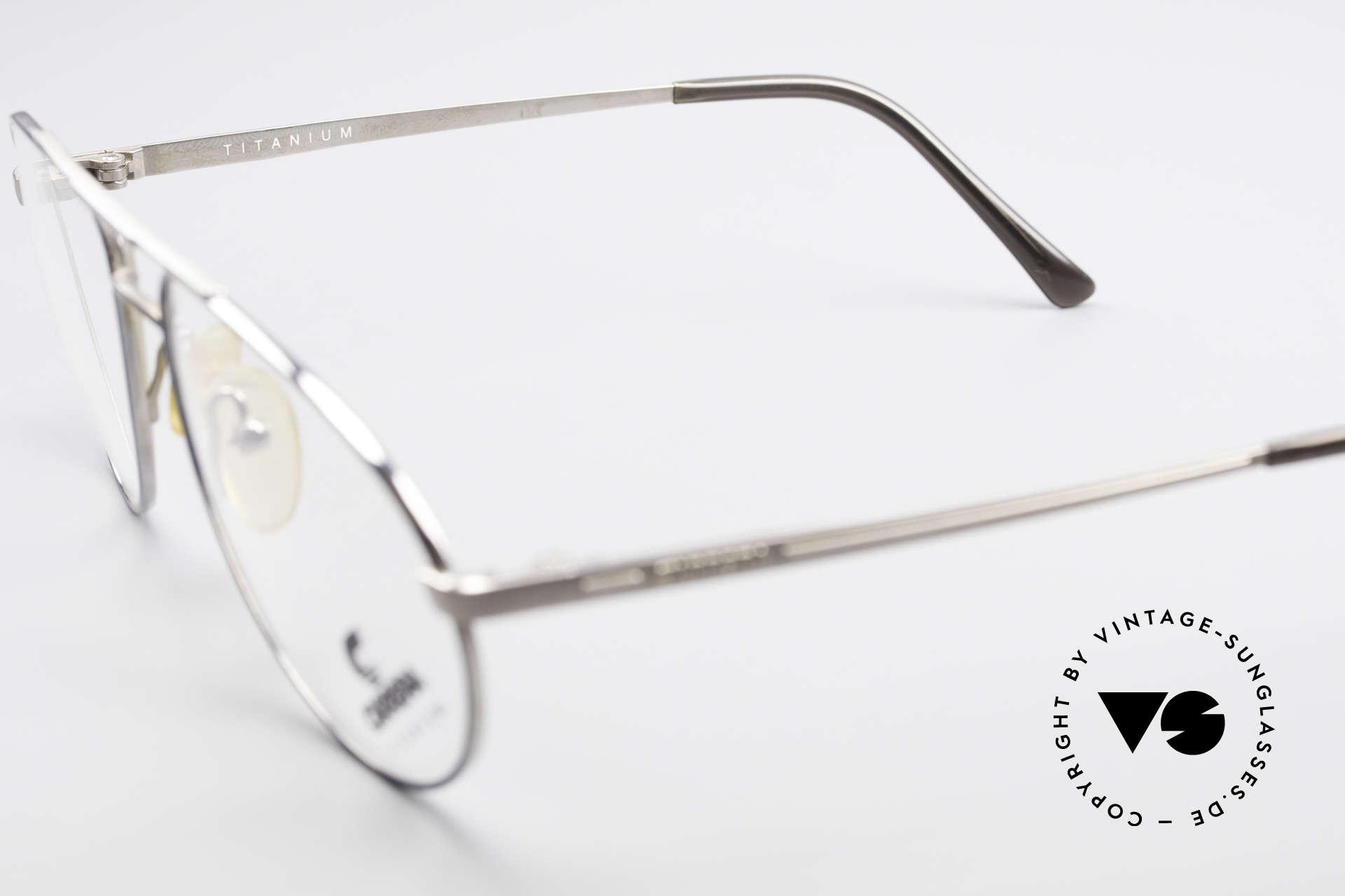 Carrera 5798 Titanium Vintage Eyeglasses, NO RETRO EYEWEAR, but a 25 years old ORIGINAL!, Made for Men