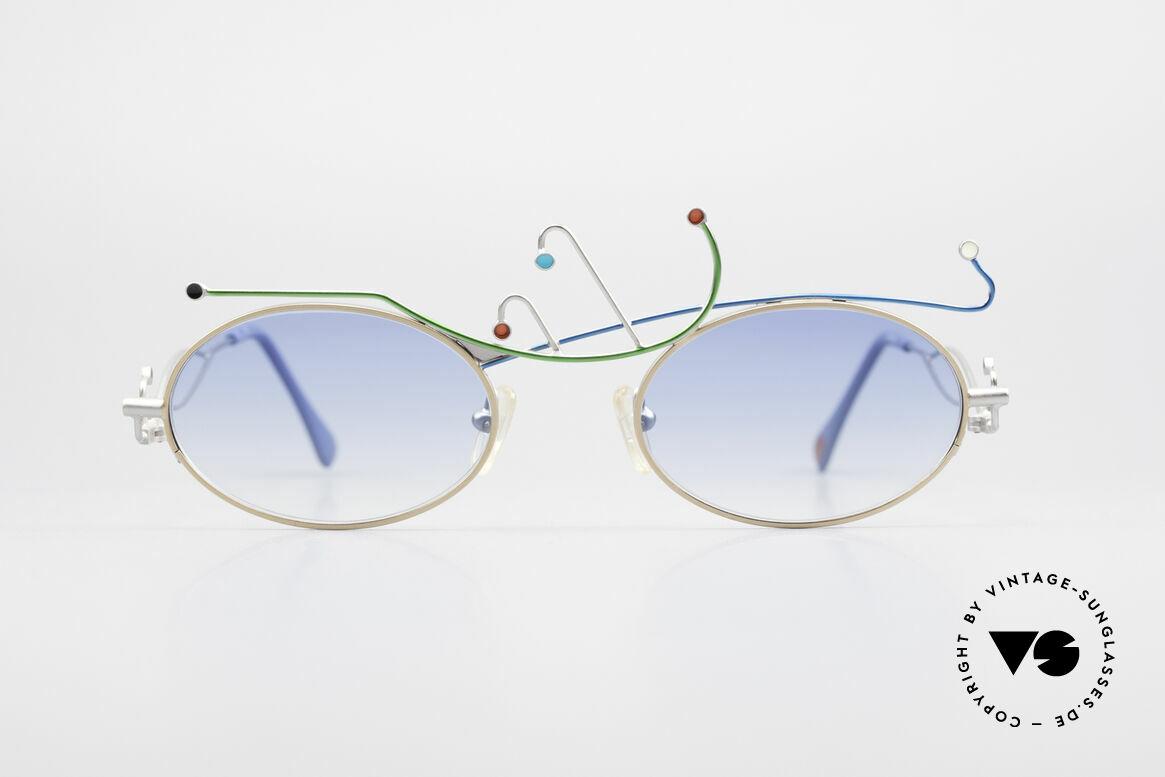 Casanova Primavera Limited 90's Sunglasses Fancy, artful vintage CASANOVA sunglasses from app. 1995, Made for Women