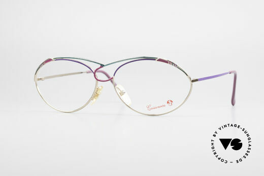 Casanova LC13 Gold Plated Ladies Glasses Details