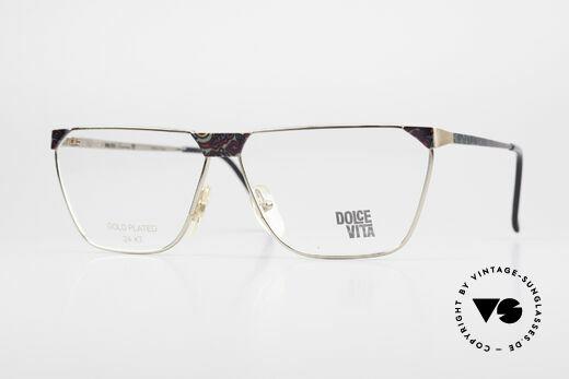 Casanova NM22 Dolce Vita 24kt Eyeglasses Details