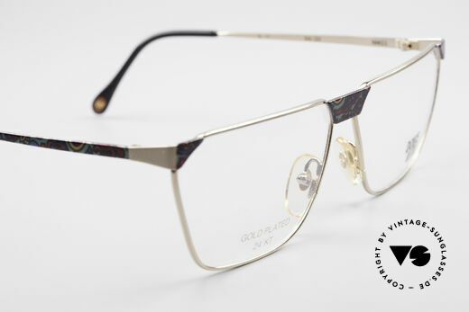 Casanova NM22 Dolce Vita 24kt Eyeglasses, demo lenses can be replaced with optical (sun)lenses, Made for Men and Women