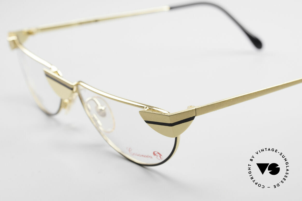 Casanova NM5 Gold Plated Reading Glasses, curved frame & charming pattern, top quality (24Kt GP), Made for Men and Women