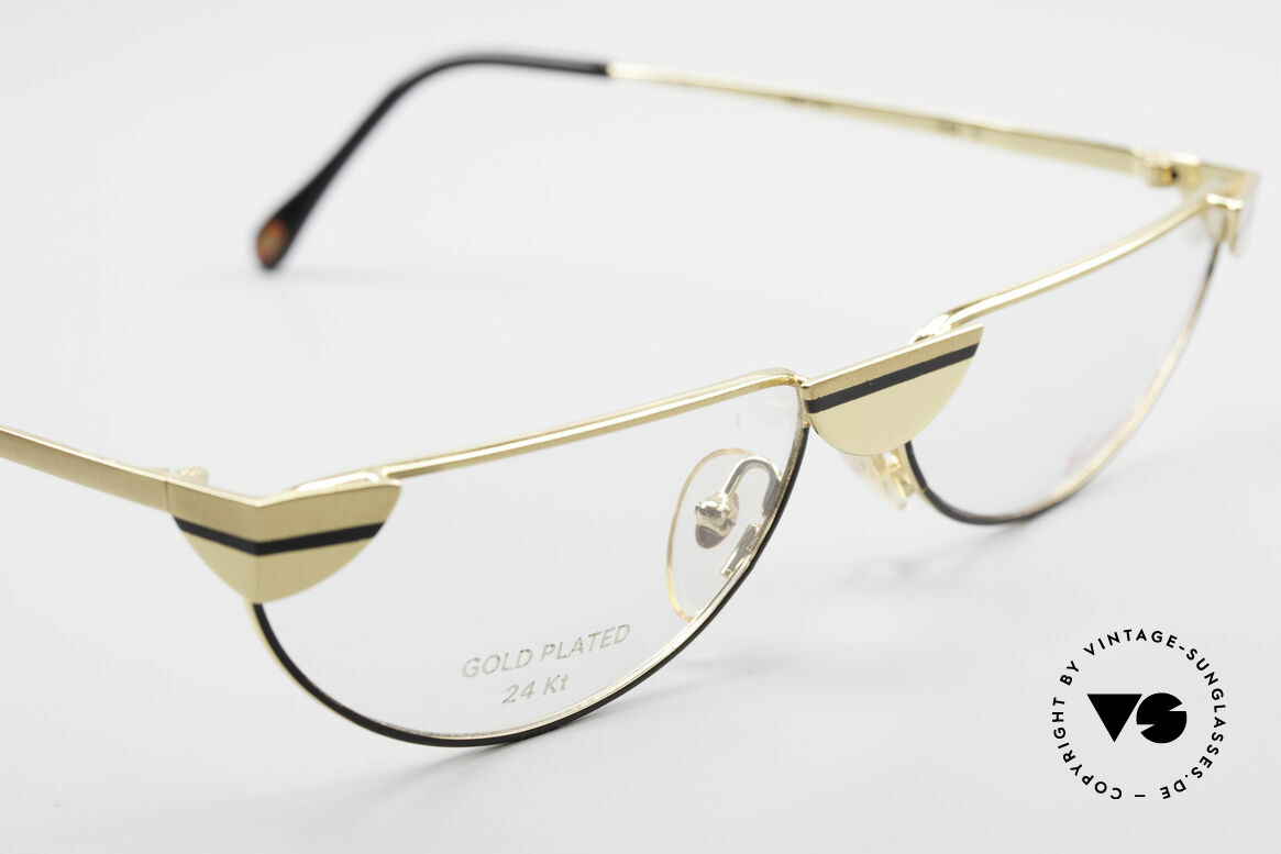 Casanova NM5 Gold Plated Reading Glasses, limited-lot production (rare, extravagant & sumptuous), Made for Men and Women