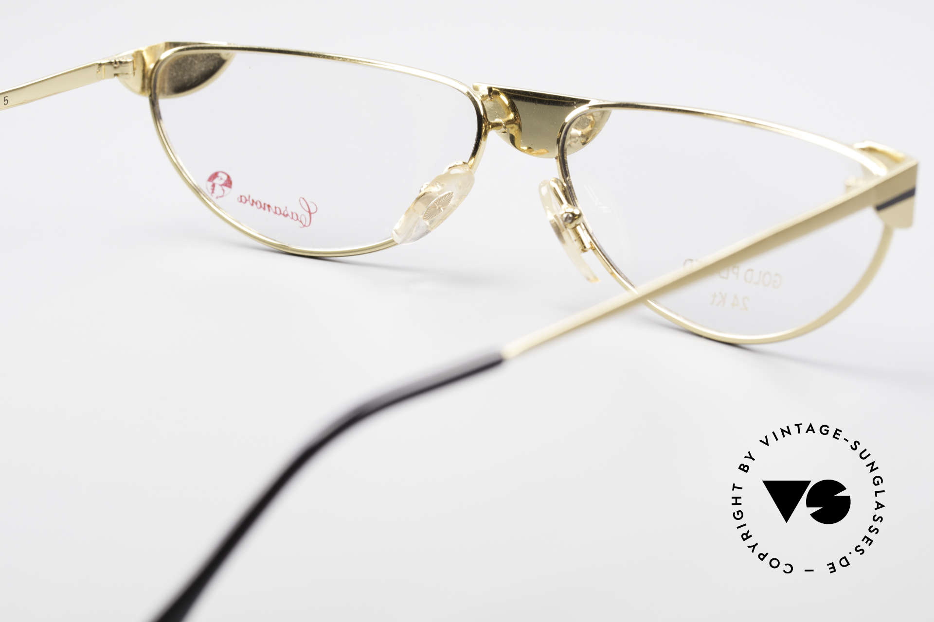 Casanova NM5 Gold Plated Reading Glasses, meanwhile, a collector's item, worldwide (true vintage), Made for Men and Women
