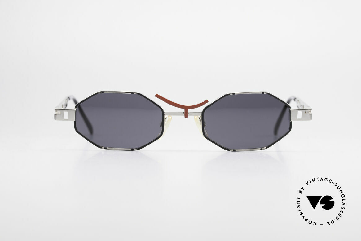 Casanova CLC2 Industrial Steampunk Shades, great frame construction of various geometrical forms, Made for Men and Women
