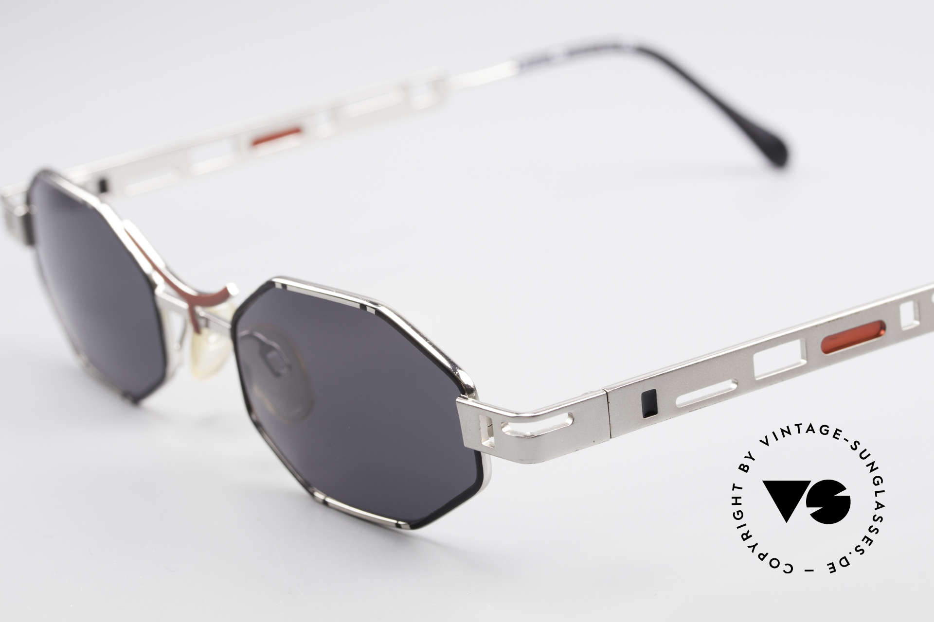 Casanova CLC2 Industrial Steampunk Shades, furthermore with subtle colors accents in black & red, Made for Men and Women