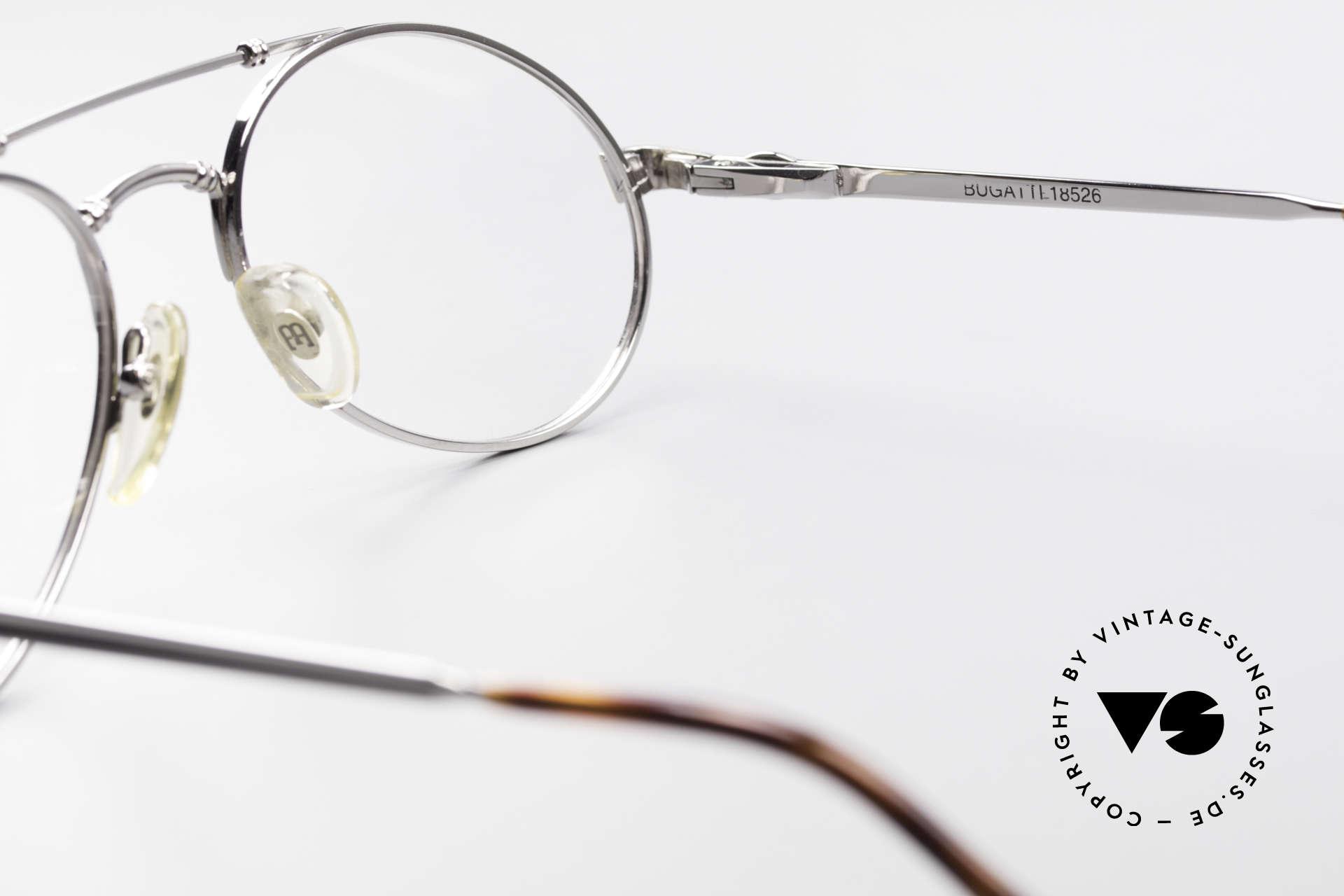 Bugatti 18526 Men's 80's Luxury Eyeglasses, NO RETRO EYEWEAR, but a precious old ORIGINAL, Made for Men