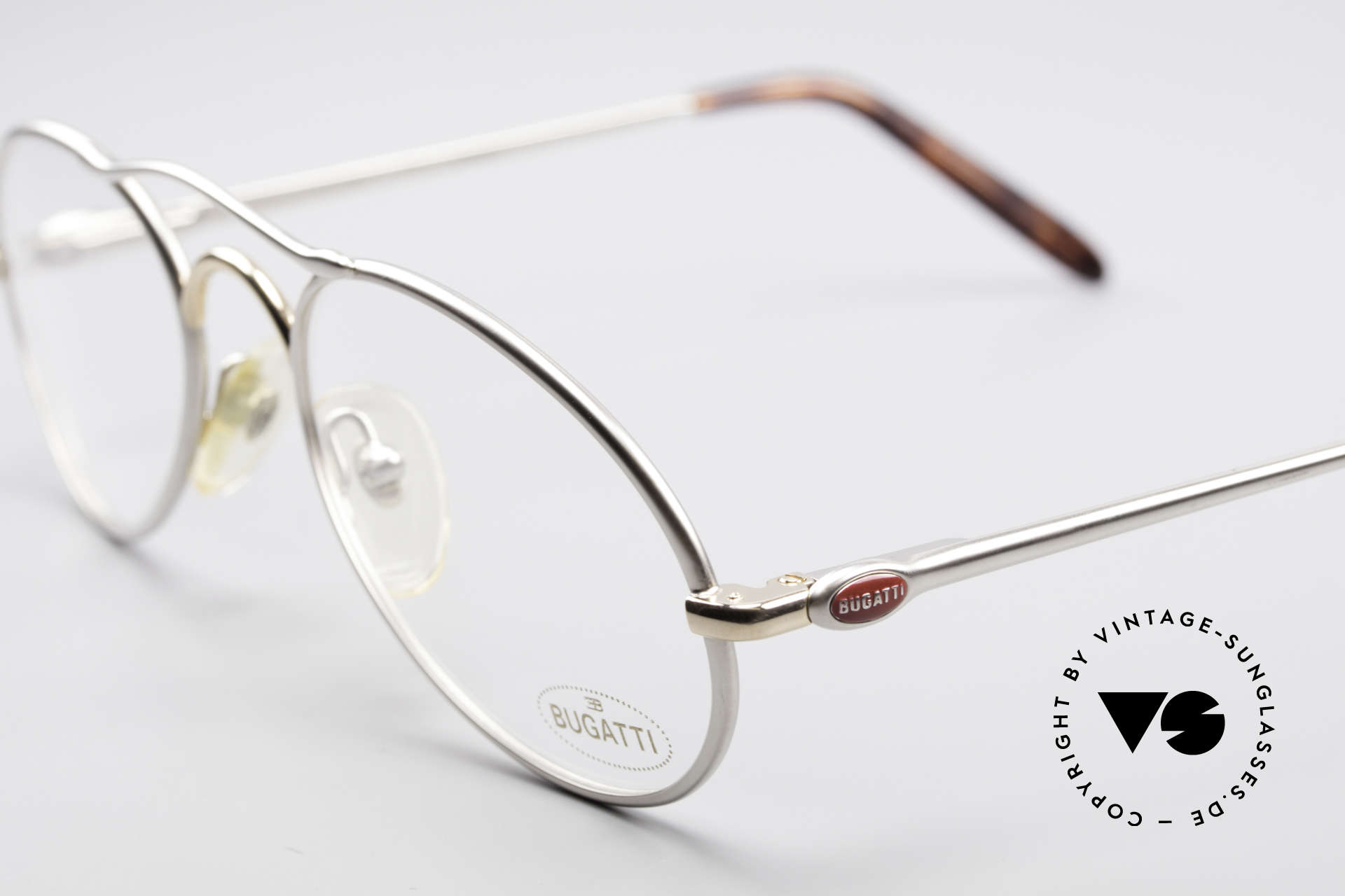 Bugatti 23439 90's Luxury Glasses For Men, unworn (like all our rare vintage Bugatti eyewear), Made for Men