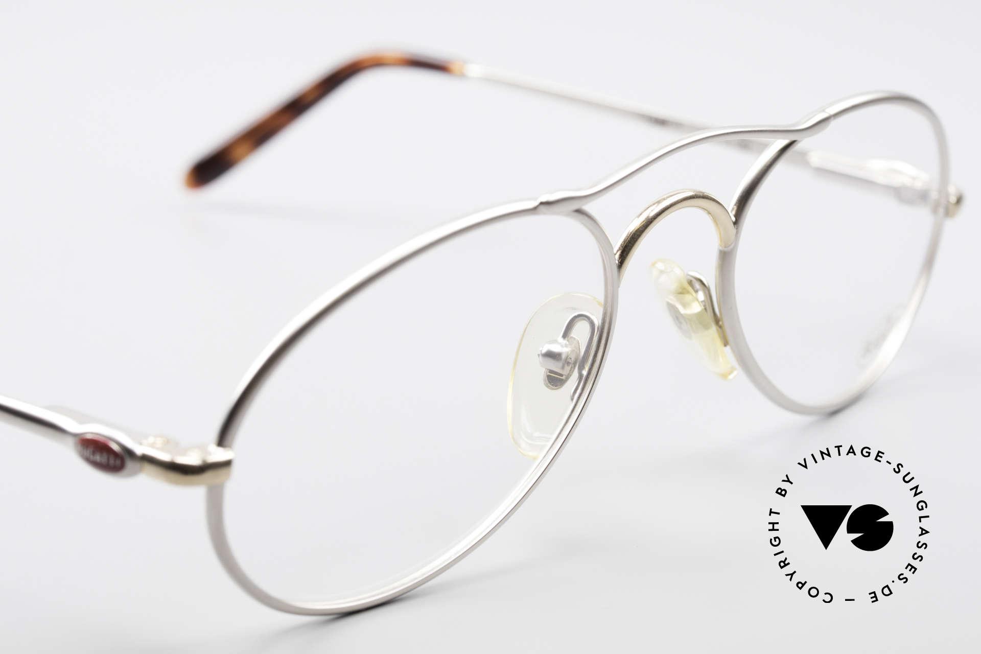 Bugatti 23439 90's Luxury Glasses For Men, NO RETRO glasses, but an old 90's original; vertu, Made for Men