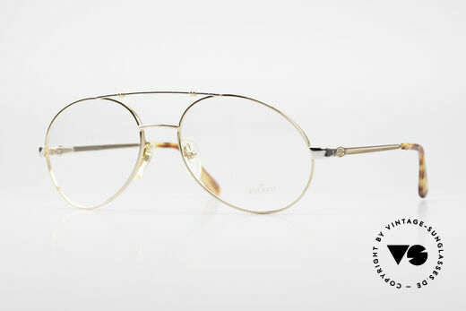Bugatti 14808 Gold Plated Luxury Eyeglasses Details