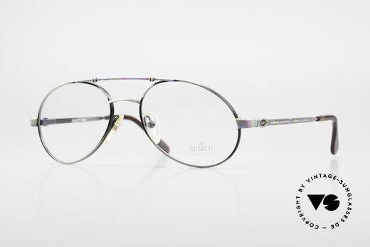 Bugatti 14841 Titanium Luxury Eyeglasses Details