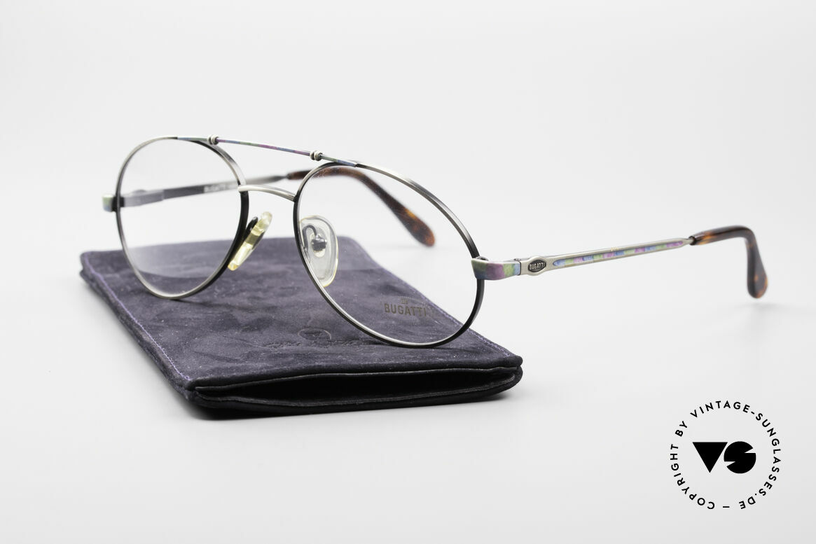 Bugatti 14841 Titanium Luxury Eyeglasses