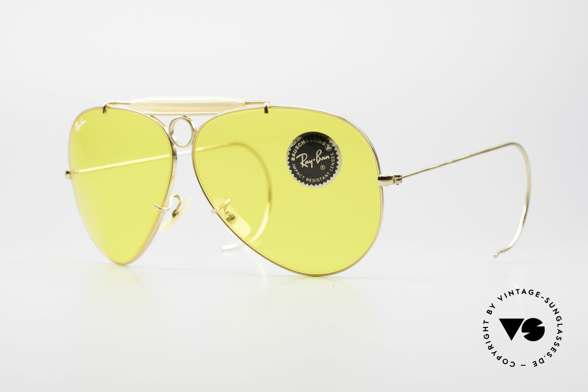 Ray Ban Shooter Sport B&L Kalichrome Lenses 62mm, SHOOTER - the classic sunglasses by Ray Ban in 62mm, Made for Men