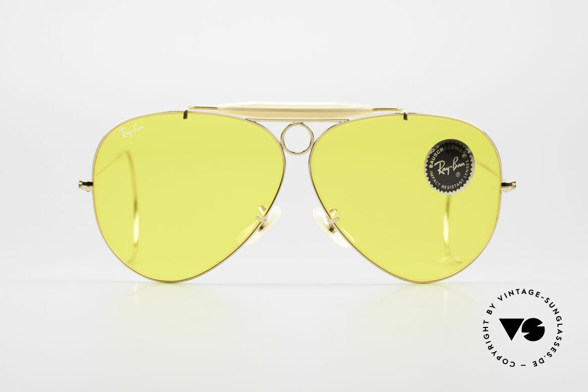 Ray Ban Shooter Sport B&L Kalichrome Lenses 62mm, the old original from the 1980's by Bausch&Lomb, USA, Made for Men