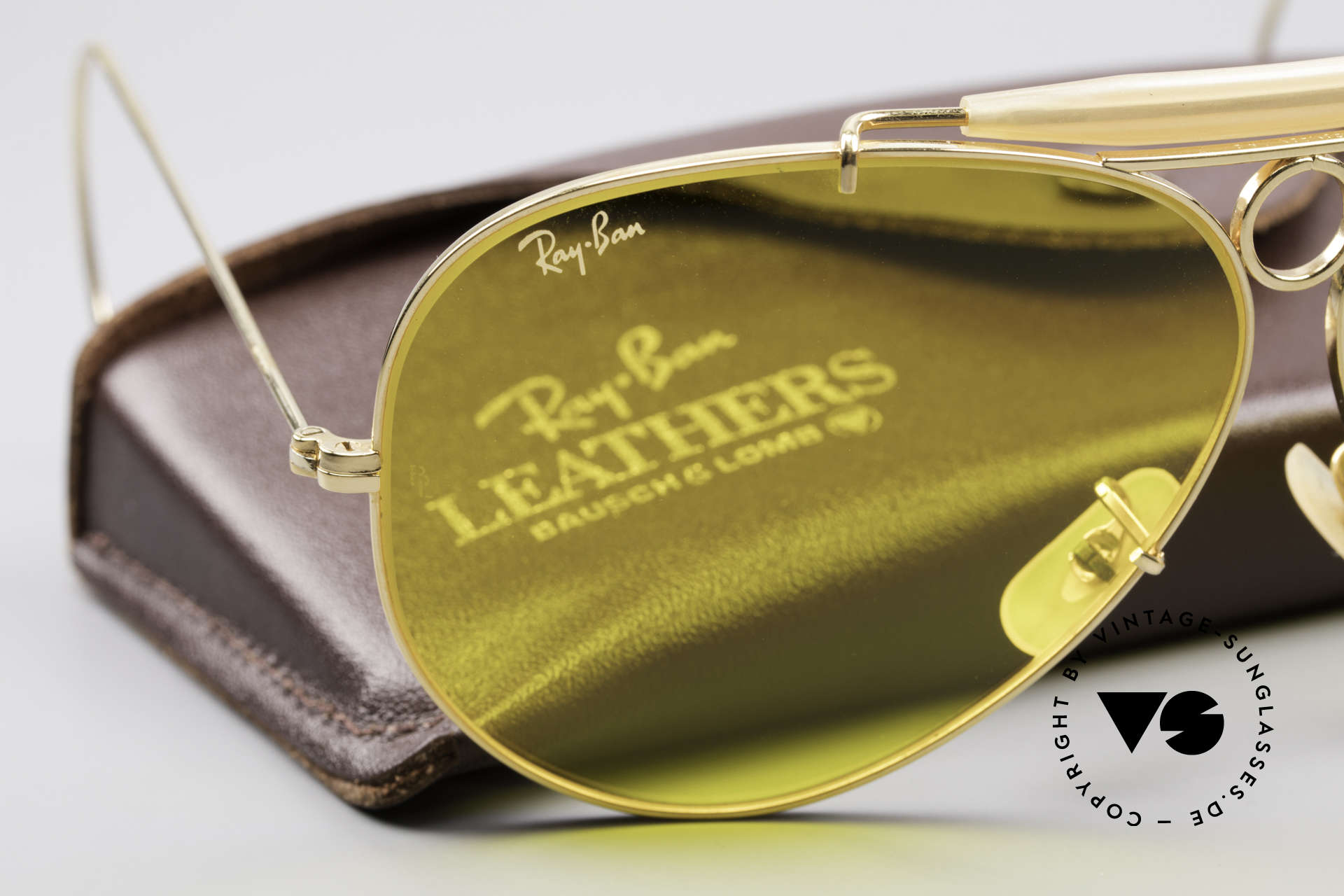 Ray Ban Shooter Sport B&L Kalichrome Lenses 62mm, NO RETRO sunglasses, but a genuine old USA-Original, Made for Men