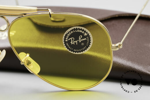 Ray Ban Shooter Sport B&L Kalichrome Lenses 62mm, comes with an old Bausch&Lomb Ray-Ban Leathers case, Made for Men