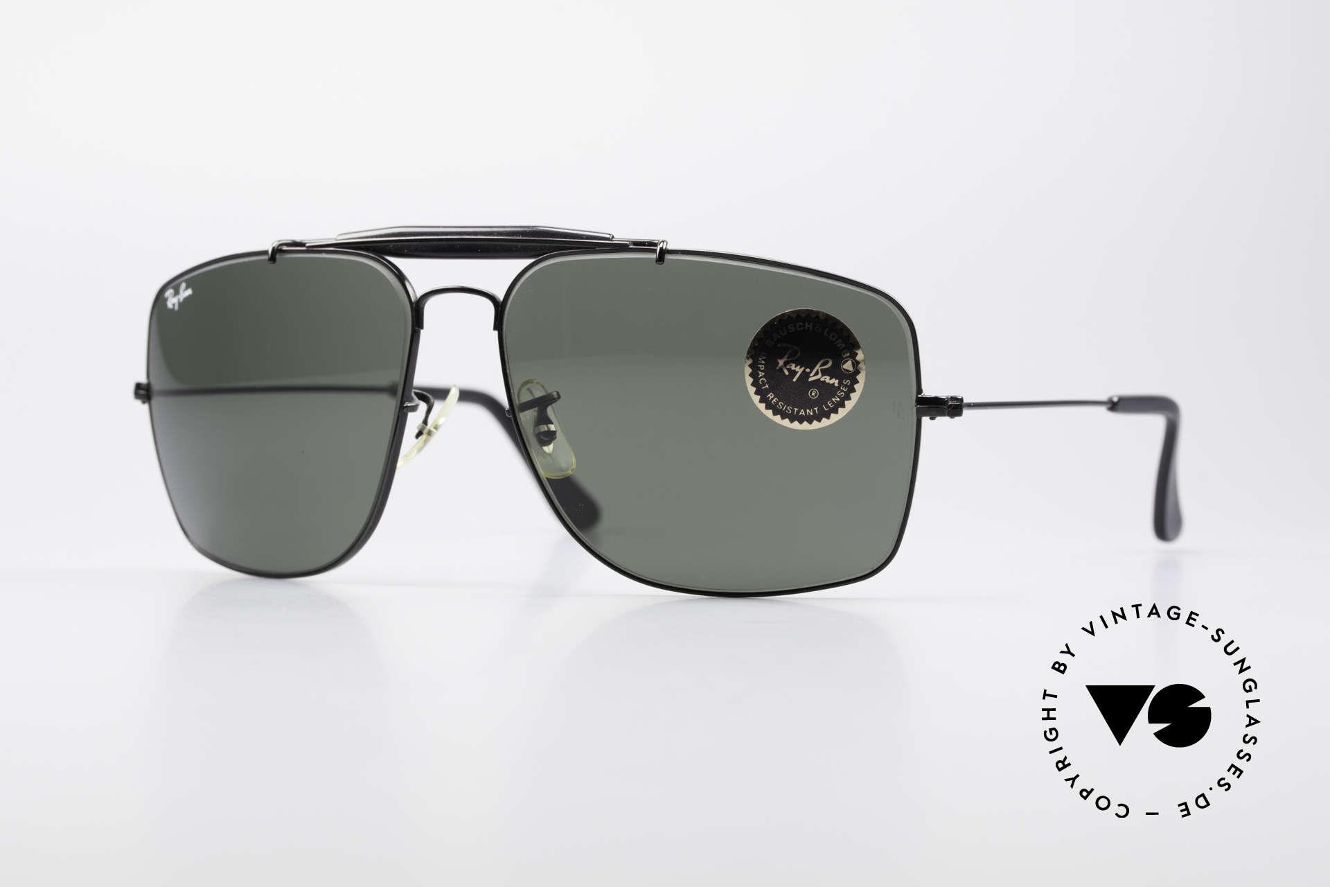 Ray Ban Explorer Large Old B&L USA Ray-Ban Shades, old 80's Ray-Ban USA B&L vintage sunglasses, Made for Men