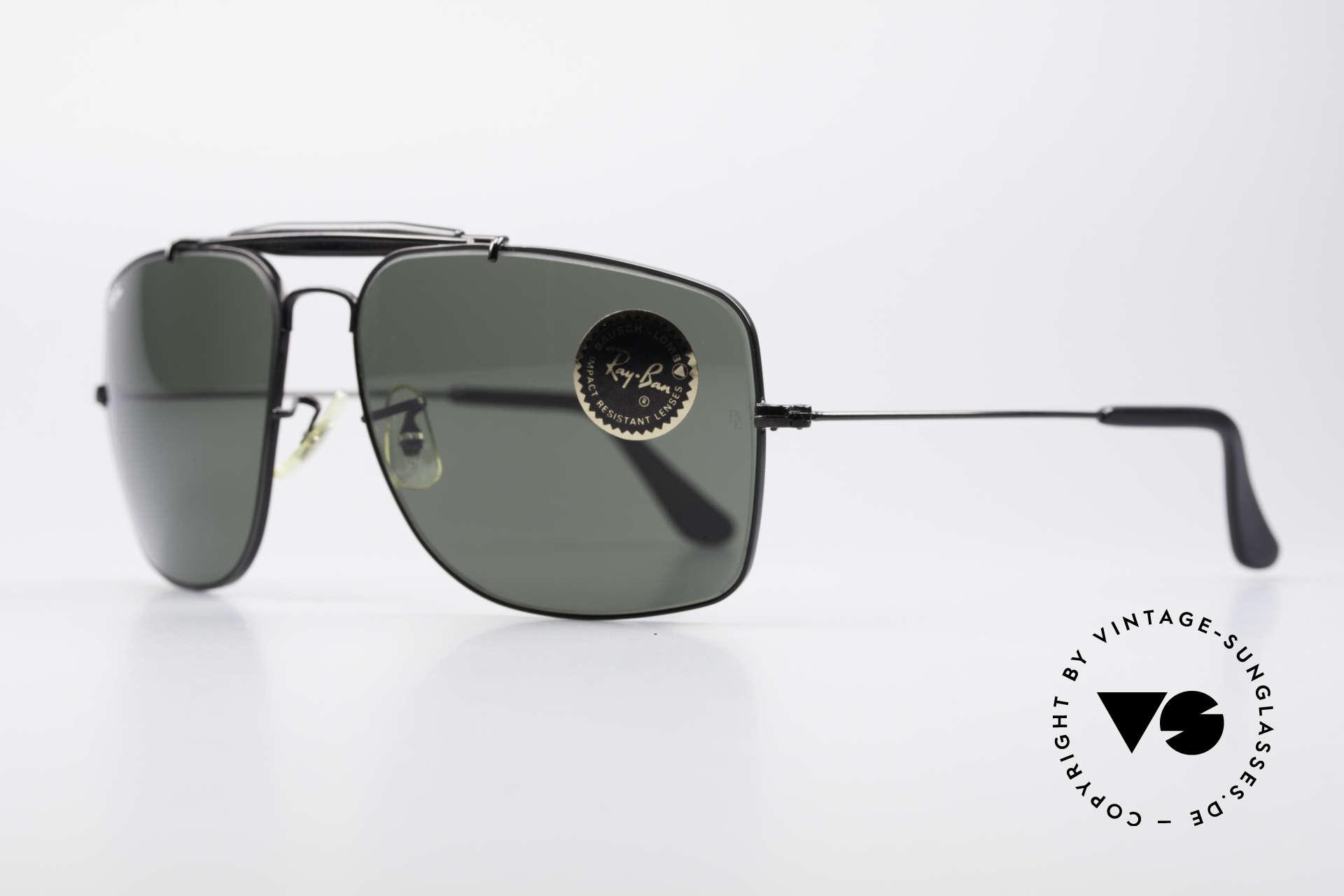 Ray Ban Explorer Large Old B&L USA Ray-Ban Shades, green G15 Bausch & Lomb B&L mineral lenses, Made for Men