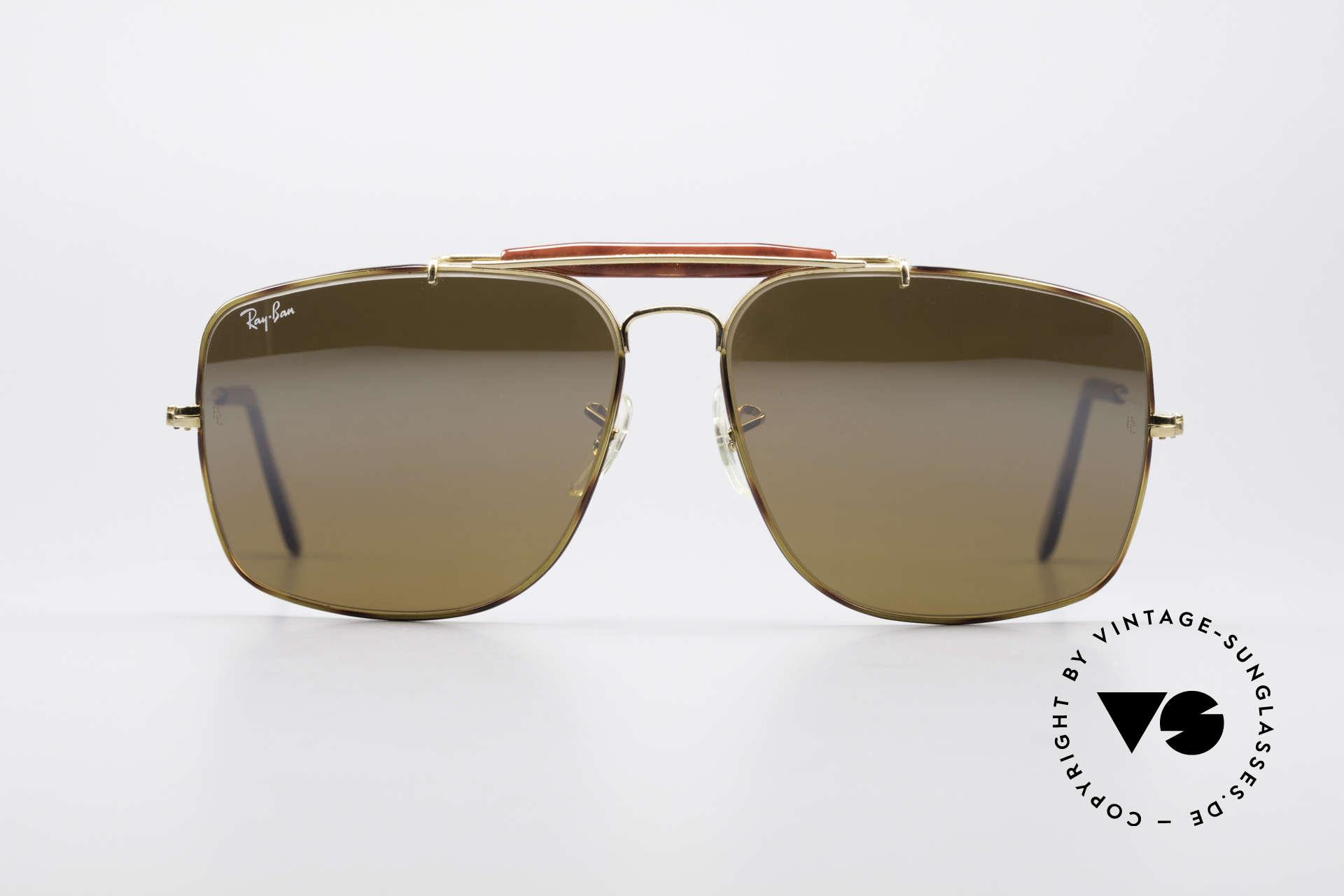 Sunglasses Ray Ban Explorer Large Tortuga Frame Brown