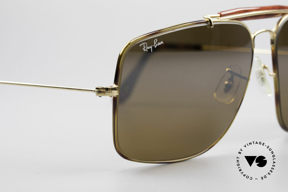 Ray Ban Explorer Large Tortuga Frame Brown Mirrored, never worn (like all our rare vintage Ray Bans), Made for Men