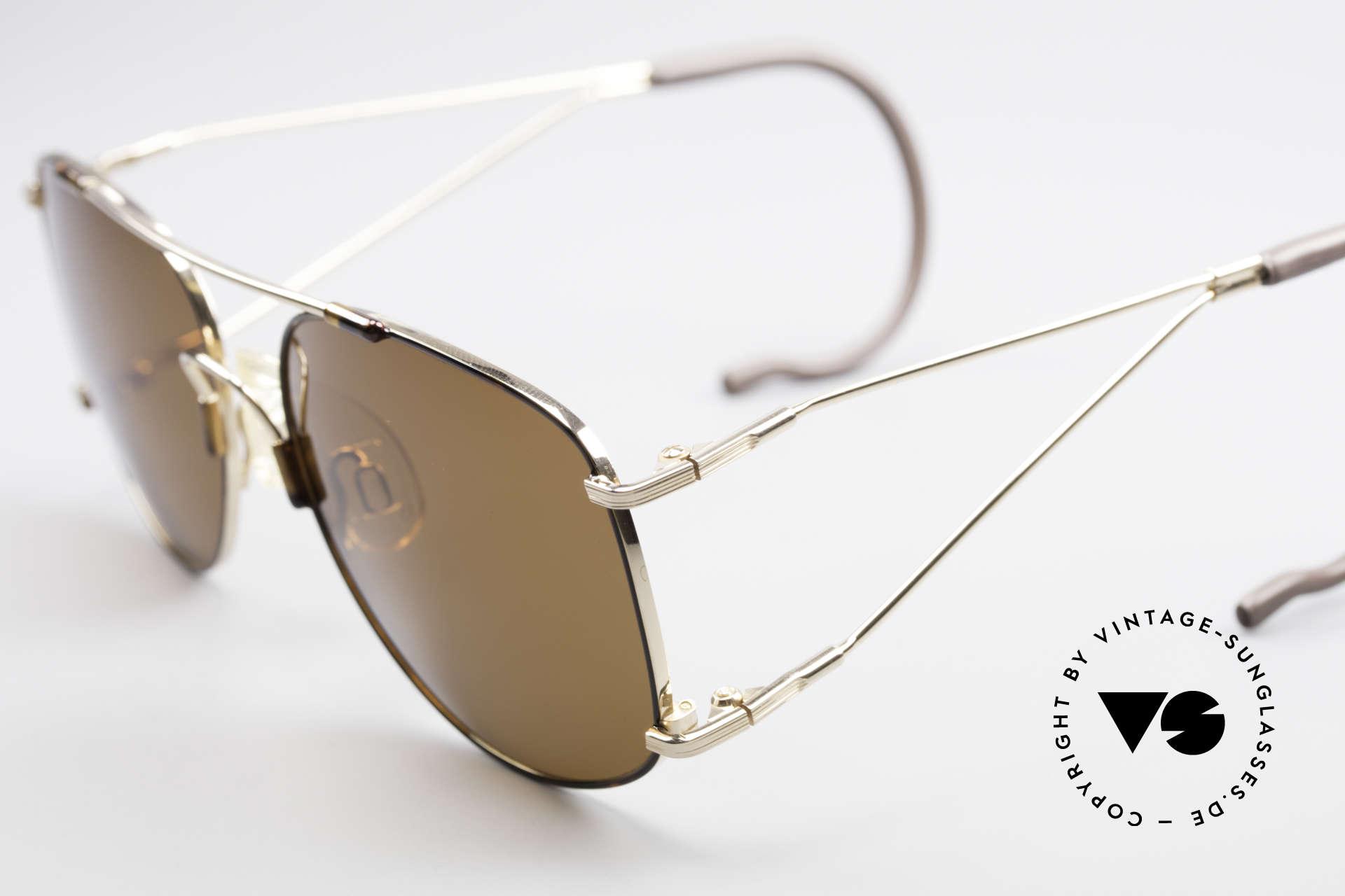 Neostyle Sunsport 1501 Titanflex Vintage Sunglasses, after deformation, the frame returns to orig. form!, Made for Men