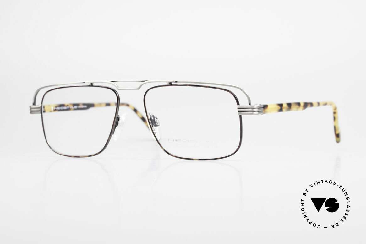 Neostyle Jet 230 80's Vintage No Retro Glasses, striking vintage Neostyle eyeglasses from the 80's, Made for Men