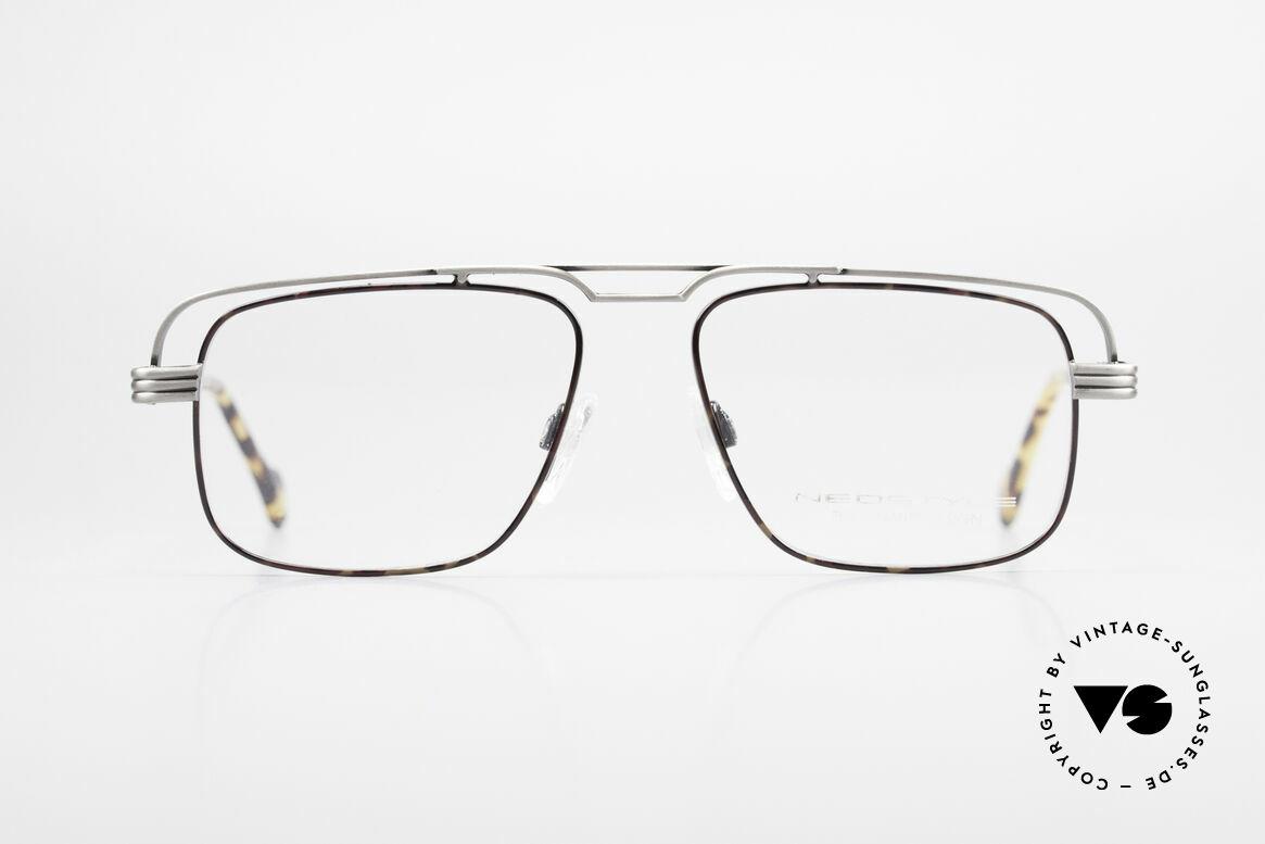 Neostyle Jet 230 80's Vintage No Retro Glasses, interesting frame construction: a true eye-catcher, Made for Men