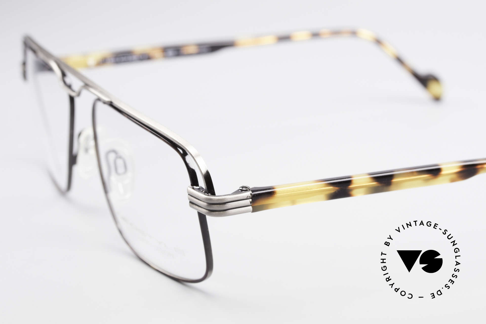 Neostyle Jet 230 80's Vintage No Retro Glasses, frame fits optical lenses or sun lenses of any kind, Made for Men