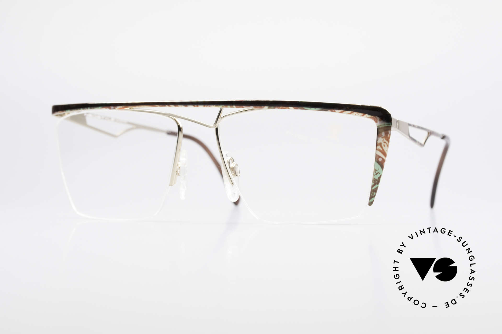 Neostyle Jet 201 Vintage 80's Nylor Frame, striking Neostyle eyeglass-frame from 1989/90, Made for Men and Women