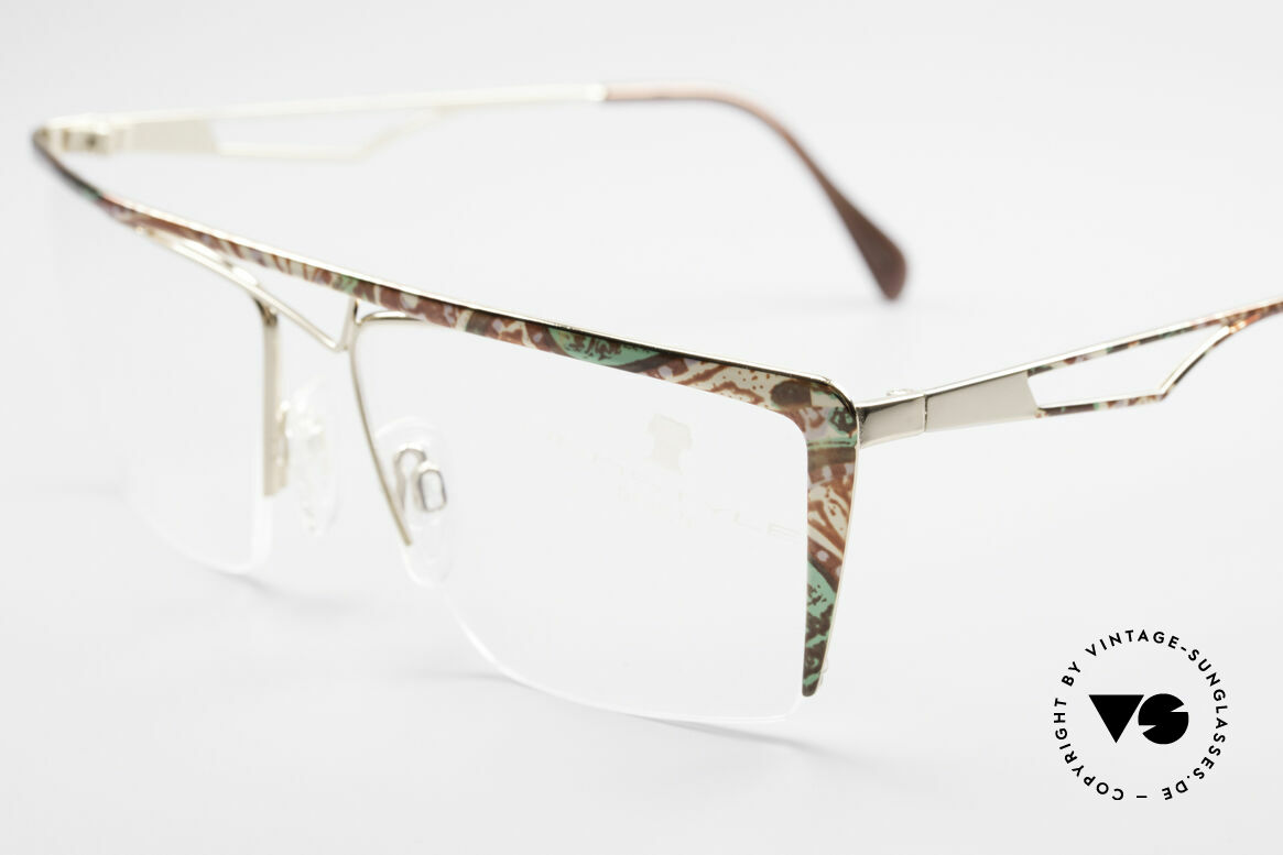 Neostyle Jet 201 Vintage 80's Nylor Frame, a true vintage 80's classic in TOP-notch quality, Made for Men and Women