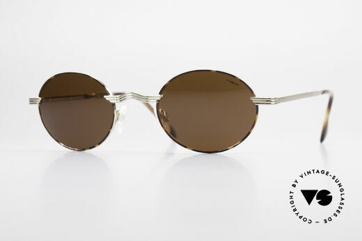 Neostyle Holiday 965 Oval Folding Sunglasses 90's Details