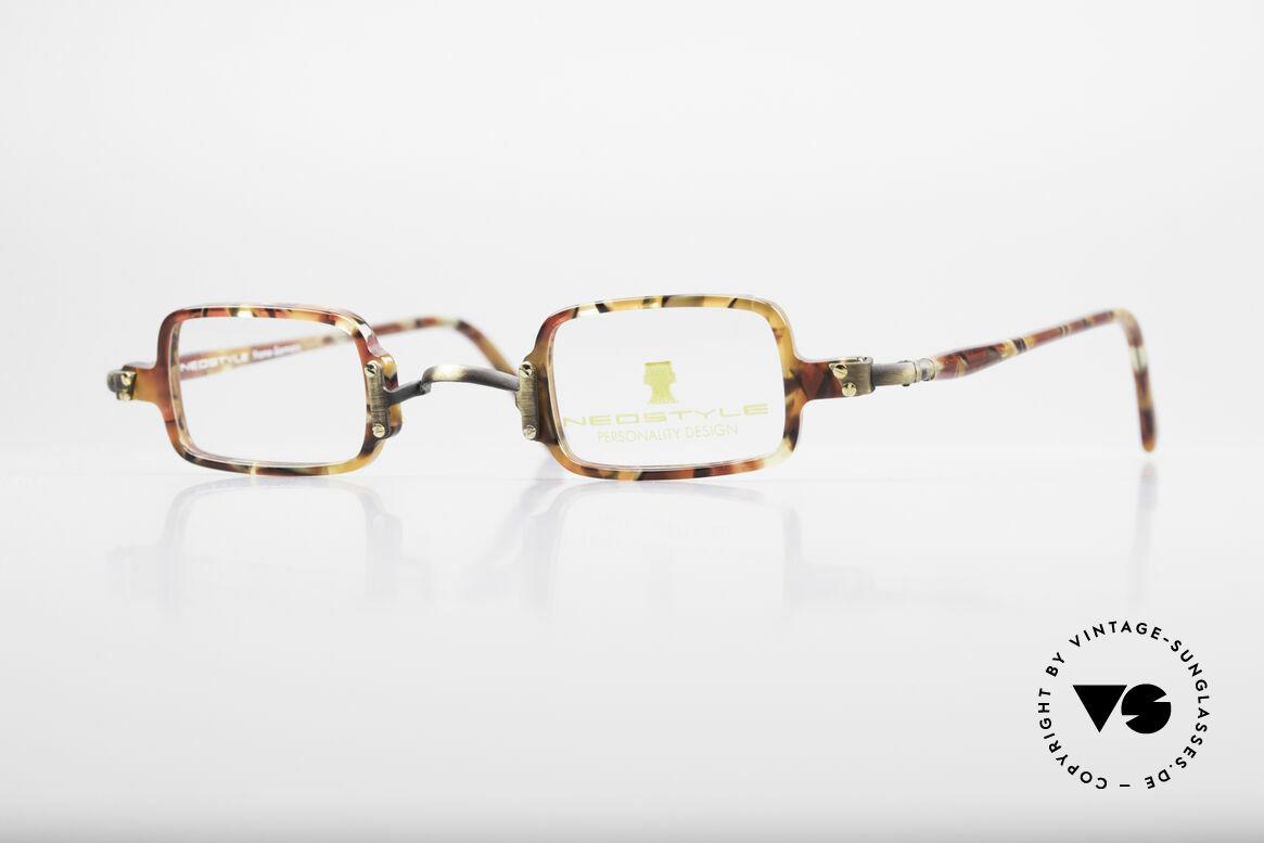 Neostyle Bistro 172 Square Vintage Unisex Frame, distinctive designer eyeglass-frame by Neostyle, Made for Men and Women