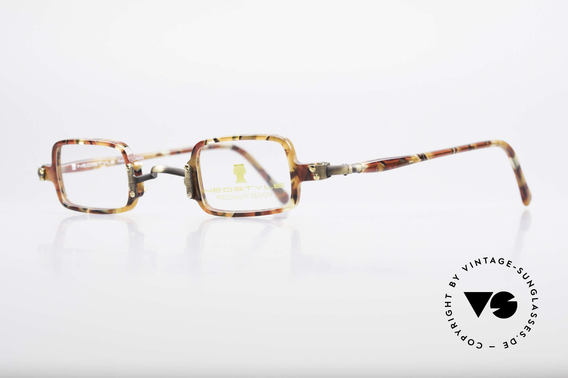 Neostyle Bistro 172 Square Vintage Unisex Frame, square frame in TOP quality (made in Germany), Made for Men and Women