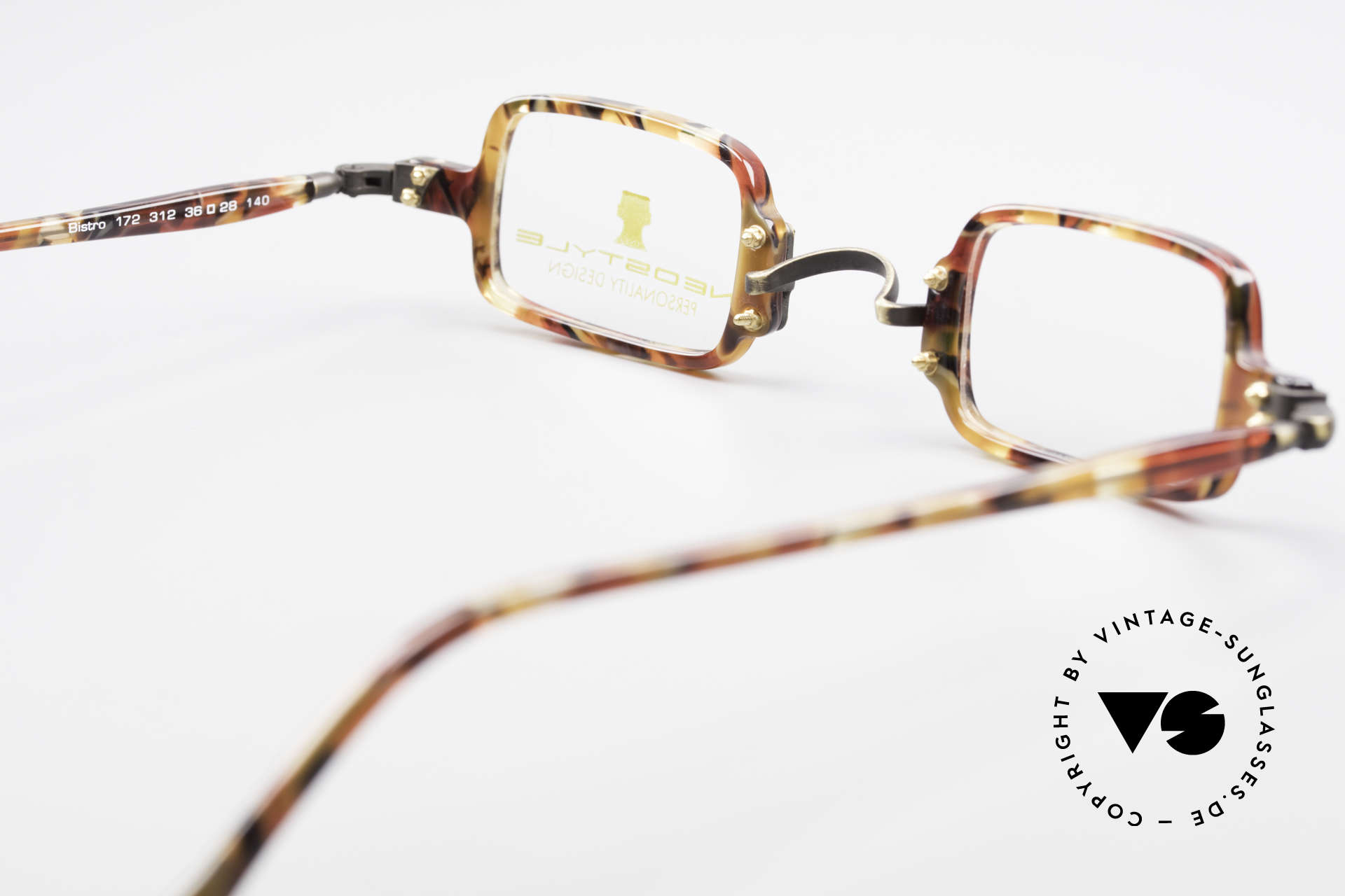Neostyle Bistro 172 Square Vintage Unisex Frame, Size: medium, Made for Men and Women